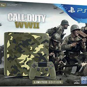 PS4 1To Edition Camouflage + Call of Duty: World War II