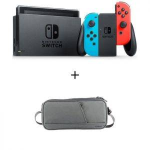 Pack Nintendo Switch Neon + une sacoche de transport