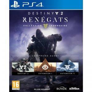 Destiny 2 Renegats Collection Legendaire PS4