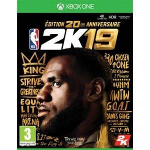 NBA 2k19 Edition 20eme Anniversaire Xbox One