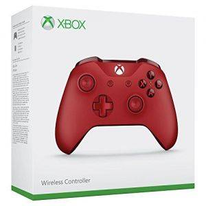 Manette Xbox One rouge MICROSOFT