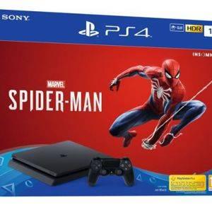 Pack PS4 Slim 1 To Noir + Marvel Spider-Man