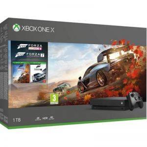 Pack Xbox One X 1 To Noire+ Forza Horizon 4 + Forza Motorsport 7