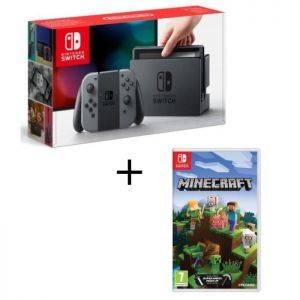 Nintendo Switch Joy-Con gris + Minecraft