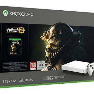 Xbox One X 1 To - Fallout 76 Edition Limitee Robot White