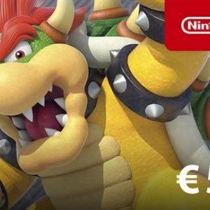Carte Nintendo eShop 50€