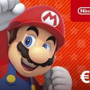 Carte Nintendo eShop 15€