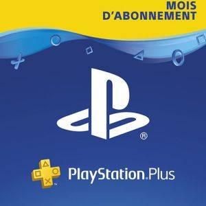 Carte Sony PlayStation Plus: 12 Mois d'abonnement
