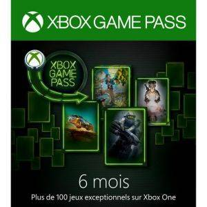Xbox Game Pass : 6 mois d'abonnement