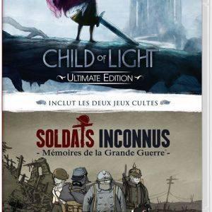 Child of Light Ultimate Edition + Soldats Inconnus Memoires de la Grande Guerre Nintendo Switch