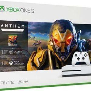 Pack Xbox One S 1 To Blanc + Anthem Legion of Dawn Edition