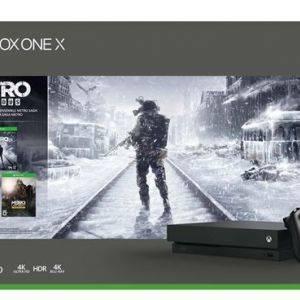 Xbox One X 1 To + Metro Exodus Saga