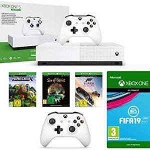 Xbox One S All Digital + Manette sans Fil + FIFA 19