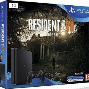 Console PS4 1 To + Resident Evil 7