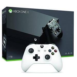 Xbox One X 1 To + Manette Xbox Sans Fil Blanche