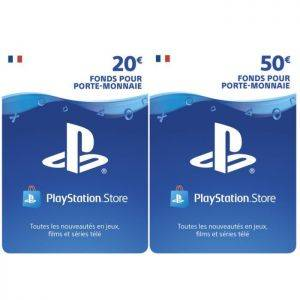 70€ Playstation Network Live Card (carte psn)