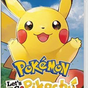 Pokemon : Let's Go  Pikachu Nintendo Switch