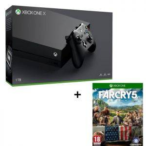 Xbox One X 1 To + Far Cry 5