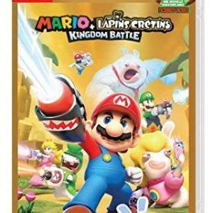 Mario + The Lapins Cretins Kingdom Battle - Edition Gold pour Nintendo Switch
