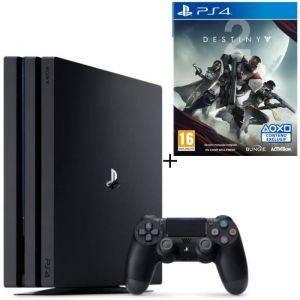 PS4 Pro Noire 1 To + Destiny 2