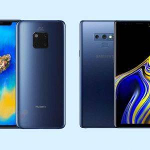 Les meilleurs smartphones Android 2019