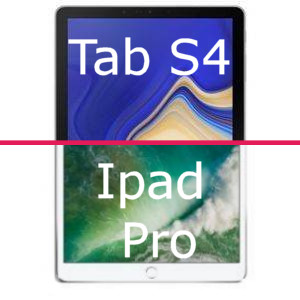 Quelle tablette choisir : Galaxy Tab S4 ou Ipad Pro ?